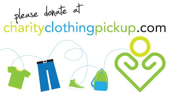 Charity Clothing Pickup Logo