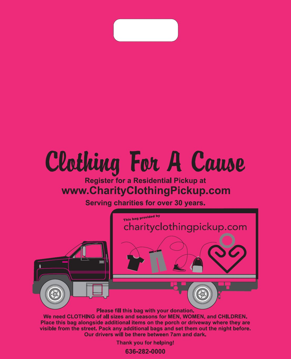 Charity Clothing Pickup - Collecting Clothing for a Cause